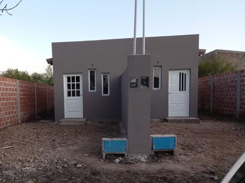 Venta A Estrenar, Dos Casas Con Terreno De Fondo De 100 Mts