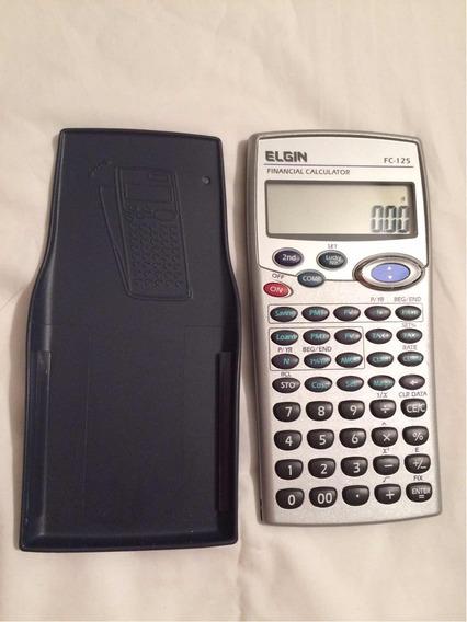 Calculadora Financeira Elgin Fc125