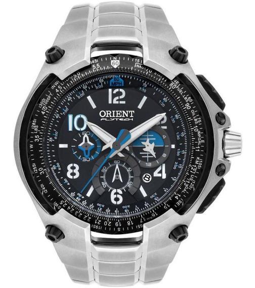 Relógio Orient Flytech 10 Anos Titânio Mbttc016 P2sx C/ Nfe