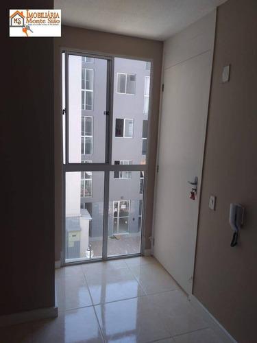 Apartamento Com 2 Dormitórios À Venda, 43 M² Por R$ 206.000,00 - Jardim Angélica - Guarulhos/sp - Ap1851