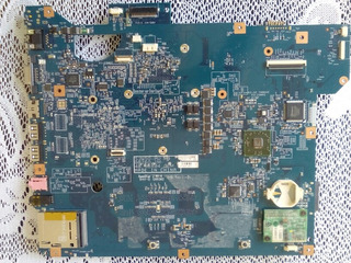 Tarjeta Madre Notebook Gateway Ms2274 Para Repuestos