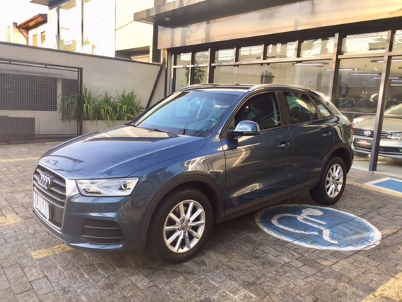 Audi Q3 1.4 Tfsi Attraction 2015/2016 Azul 28mkms Blindado