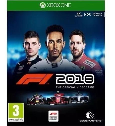 F1 2018 - Xbox One Mídia Física Lacrado