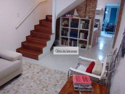 Imagem 1 de 11 de Sobrado Com 2 Dormitórios À Venda, 130 M²  - Ipiranga - São Paulo/sp - So0433
