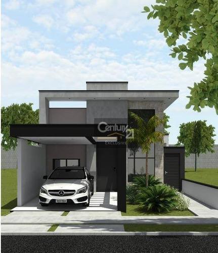 Casa À Venda, 108 M² Por R$ 630.000,00 - Condomínio Park Real - Indaiatuba/sp - Ca0893