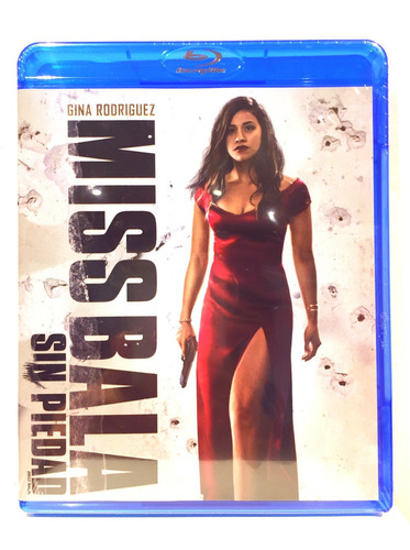 Miss Bala: Sin Piedad Gina Rodriguez  Bluray Nuevo Original