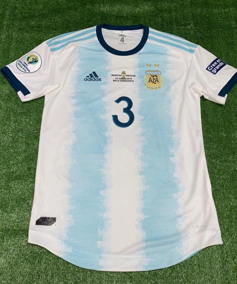 Camiseta De Argentina 2019 Copa America Utileria Tagliafico