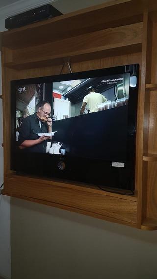 Tv Lg 42 Pol - 42lg64fr Md Awzqljz E Painel Em Madeira