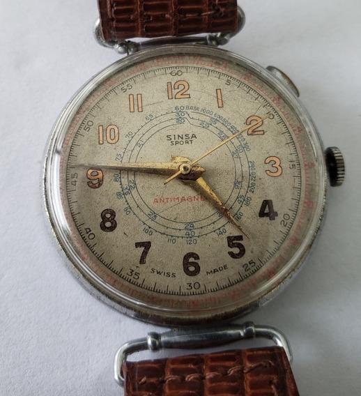 Relógio Antigo Sinsa Sport Medico