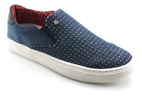 Tênis Cravo E Canela Slip On Jeans 136433