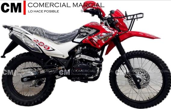 Pegasso Vampire 200cc Cross Por Temporada
