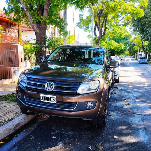 Volkswagen Amarok 2.0 Cd Tdi 4x4 Highline Pack Cuero