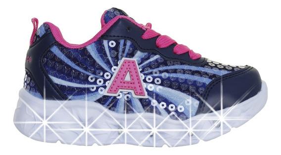 Zapatillas Addnice Moda Starlight Cordon Niña Mn/ce