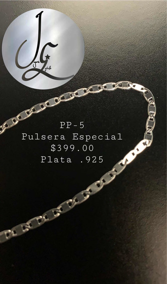 Pulsera Especial Plata .925 Joyería Fina Estrella