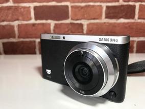 Câmera Samsung Nx Mini Com Lente 9mm