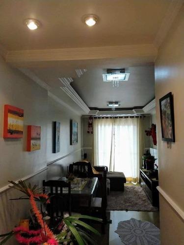 Apartamento Com 2 Dormitórios À Venda, 64 M² Por R$ 339.000 - Vila Boa Vista - Barueri/sp, Ótima Localização - Ap0607