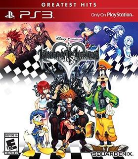 Kingdom Hearts Hd 1.5 Remix Ps3 Disco Nuevo Y Sellado