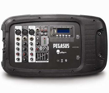 Sistema De Audio Con Ecualizador Alien Pegasus