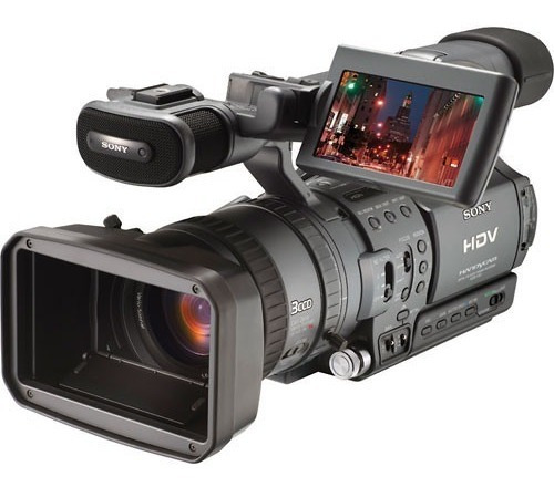 Sony Hdr-fx1 Hdv 1080i Video Camcorder, 12 X Optical Zoom