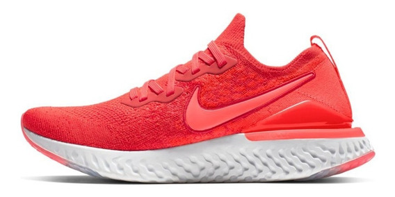 Tenis Nike Epic React Flyknit 2 S/tapa Correr Gym Oferta