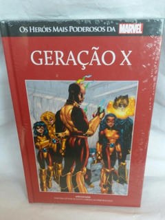 Hq Geração X Os Herois Mais Poderosos Marvel Salvat Novo