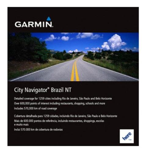 Cartão Sdhc Mapa Original Garmin City Navigator Brasil 2020