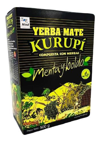 Imagem 1 de 1 de Erva Para Terere Verdadeira Kurupi 500g Original Paraguaia