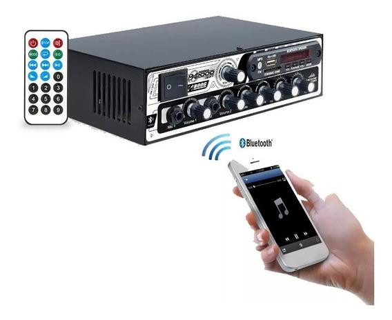 Potencia Boog Home Som Ambiente 300 Watts Bluetooth Mx2000