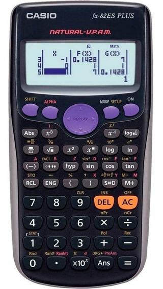 Calculadora Cientifica Cassio Fx-82es Plus Com 252 Funçoes Auxílio Tecnológico Para Sala De Aula Visor De Texto Natural