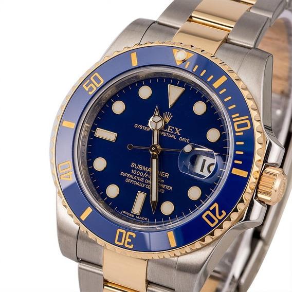 Relógio Eta - Mod. Submariner - Base Eta 2840. - Aço 904l