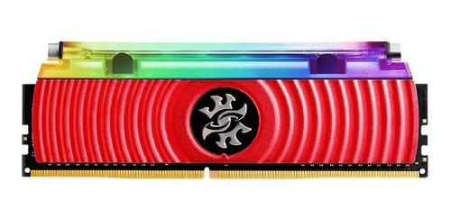 Memoria Gamer Adata Xpg Ddr4 8gb Rgb 3000mhz Spectrix D80