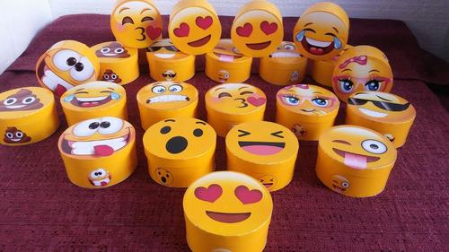 Emoticones Emojis Cajitas Varios Modelos