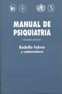 Fahrer Manual Psiquiatria Libro Nuevo