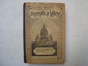 Livro Gramática Latina - P. João Ravizza