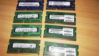 Memorias Ram 2gb Ddr3 Pc3-10600s Notebook