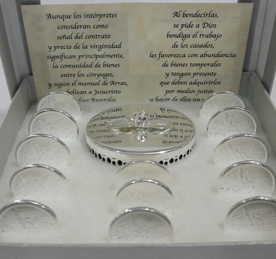 Arras Chapa De Oro 14k + Anillo Plata Infinito .925