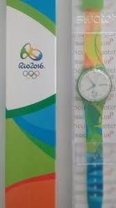 Relógio Swatch Original Olimpíadas Colecionável, Nunca Usado