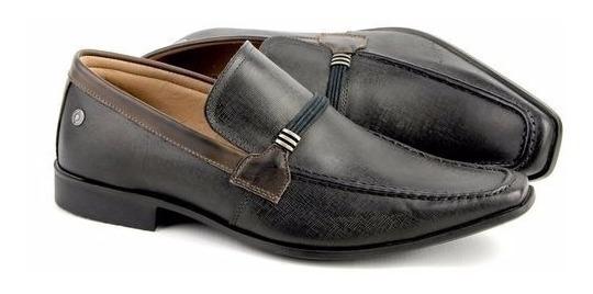 Sapato Casual Masculino Social Combina Com Calça Jeans Preta