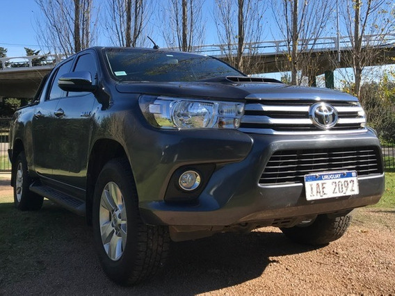 Toyota Hilux Srv 3.0 Diesel 4x2 Año 2016