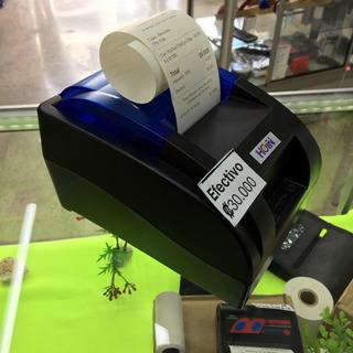 Impresora Usb 58mm Térmica Facturas O Tiempos Computador Usb