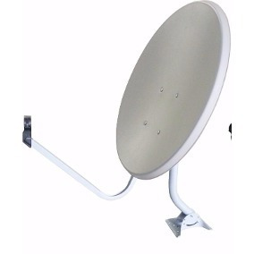 4 Antenas Ku Completa + Lnb Duplo + 100 Metros Cabo Rg6 Rg59