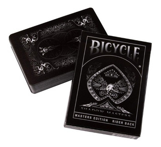 Baralho Bicycle Shadow Masters - Ellusionist Pôquer Mágica