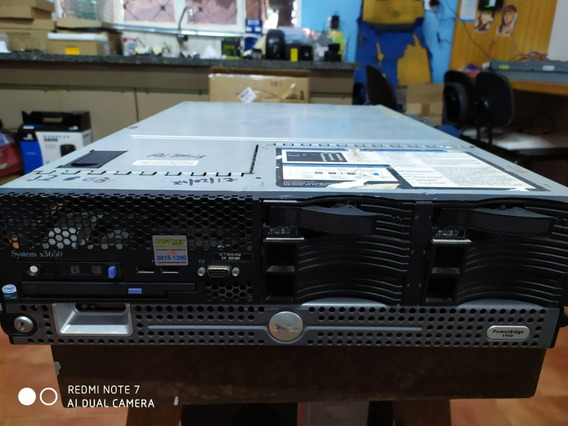 Servidor Ibm X3650 M2 2x Xeon E5530 16gb Ram 3x Hd De 64 Gb