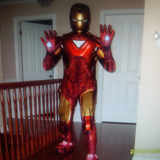 Disfraz Ironman Importado Usa!! No Te Lo Pierdas!!!! 1 Uso