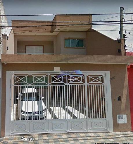 Sobrado Com 3 Dormitórios À Venda, 192 M² Por R$ 749.000,00 - Vila Antonieta - São Paulo/sp - So0031
