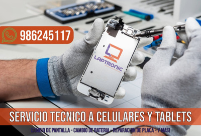 Servicio Tecnico Reparación Celulares iPhone Samsung Huawei