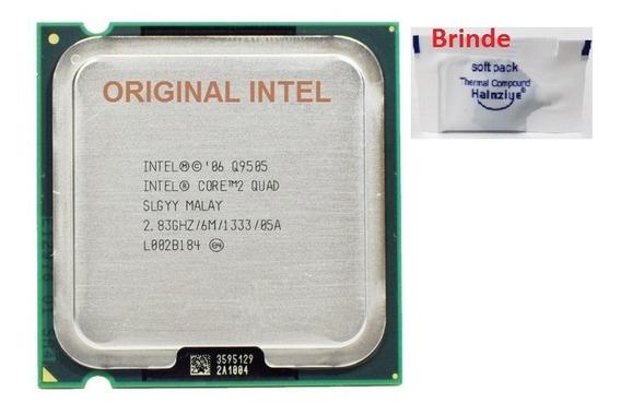 Processador Intel Super Quad Q9505 2.83ghz 775 + Pasta