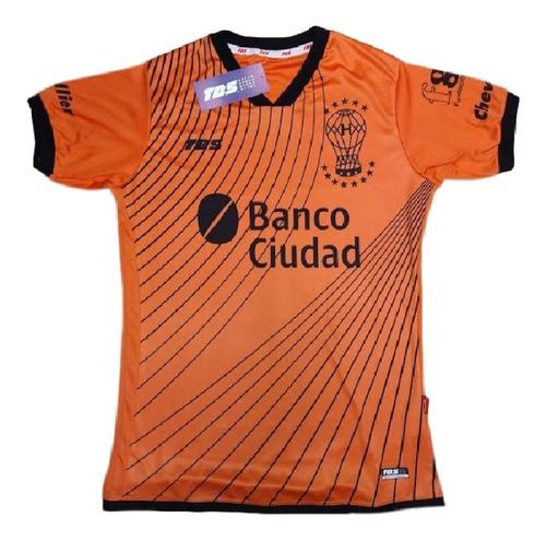 Imagen 1 de 7 de Camiseta De Arquero Naranja Huracán Tbs 2020