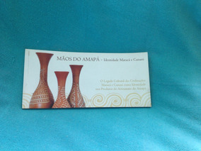 Livro Catálogo Mãos Do Amapá Arte Artesanato 1ª Edição 2007