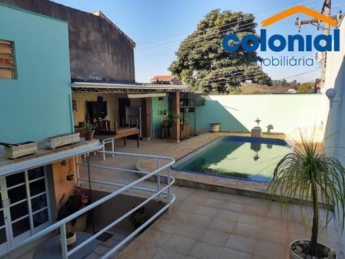 Imagem 1 de 22 de Casa A Venda No Jardim Do Lago Com Piscina - Ca01151 - 69804412